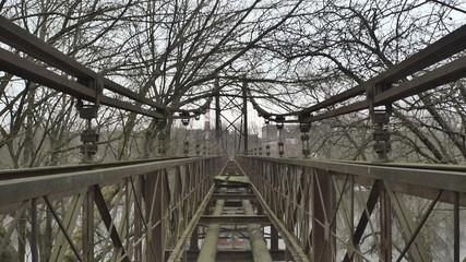 Vilnius. Old Bridge over the Neris River. Time Lapse_3.mov