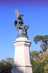 Madrid monument - Fallen Angel