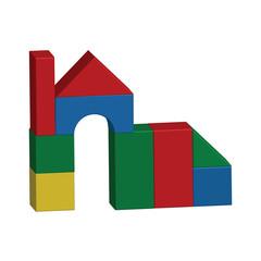 House, building bricks