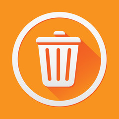 Bin icon great for any use. Vector EPS10.