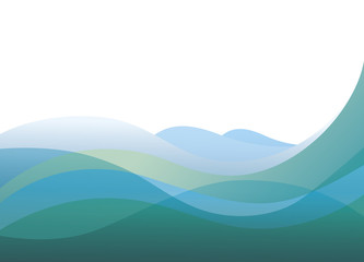 Texture sea light blue waves