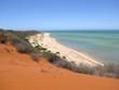 Dune in Francois-Peron National Park, Shark Bay, West Australia