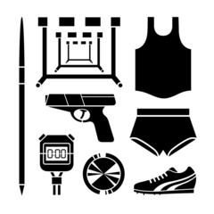 Sports icon collection icon great for any use. Vector EPS10.