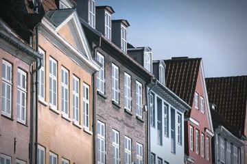 Nyhavn, Copenhagen. Cross processed color tone.