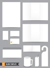 Brochure background template 000