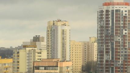 Minsk. Сondominium. Time Lapse.