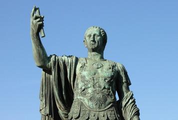 Roman emperor Nerva in Rome, Italy