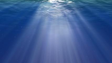 Small bubbles in the dark ocean
