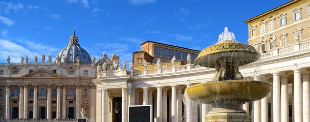 Saint Peter in Rome 2 panorama