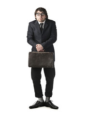 A weird businessman
