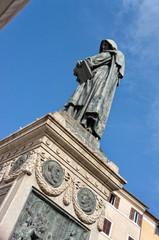 Statue of Giordano Bruno - Campo de' Fiori Rome Italy