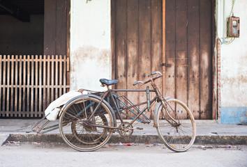 Old, rusty cyclo