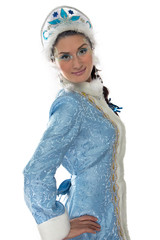 Image of beauty snow maiden
