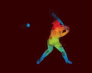 Baseball Art 4 Dark