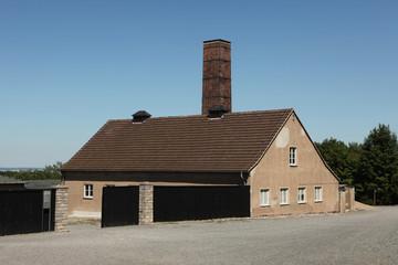 Crematorium in the Buchenwald concentration camp.