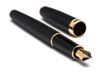 Długopis na białym tle