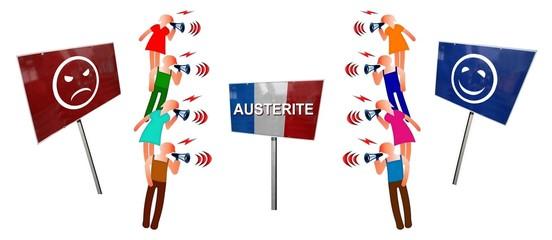 """Débat  """"France: austérité pour ou contre"""""""