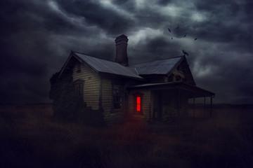 Mysterious house.