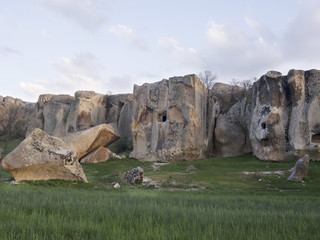 Phrygian Valley in Turkey  . Midas city, Eskisehir.