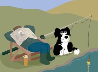 dog rod rest