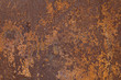 Leinwanddruck Bild - Rusty metal texture