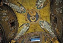 """Постер, картина, фотообои """"I mosaici della basilica di Santa Prassede - Roma"""""""