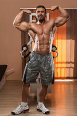 Double Biceps Pose