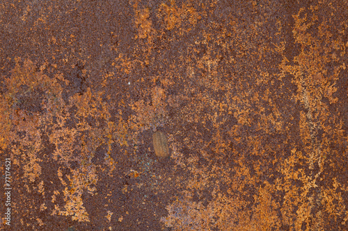 Canvas Metal Rusty metal texture