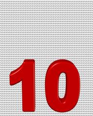 kırmızı renkli %10