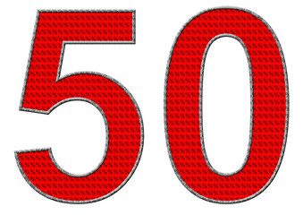kırmızı renkli %50