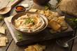Healthy Homemade Creamy Hummus - 77182717