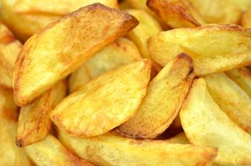 smaczne pieczone ziemniaki