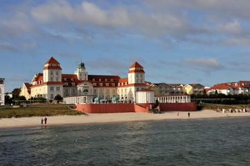 Kurhaus Binz, Ostsee, Strand, Mecklenburg-Vorpommern, Rügen