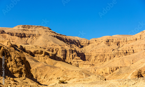Papiers peints Egypte Landscape of the Valley of the Kings - Egypt