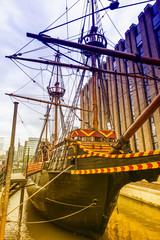 Old boat in London