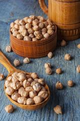 Raw Organic Garbanzo Beans