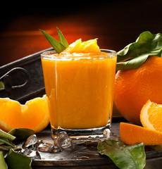 Orangen Smoothie frisch gepresst