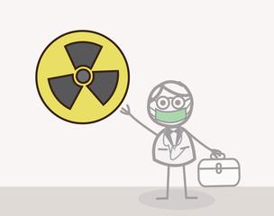 Scientist Radioactive Symbol