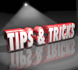 Tips Tricks 3d Words Spotlight Helpful How to Information Advice