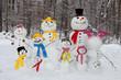 Snowman family - 77191903