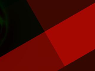 Abstract artistic geometric presentation