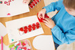 Valentine's Day Hearts: Kids Arts and Crafts - 77197763