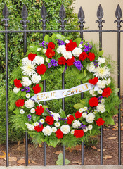 Wreath DC Office Killed Blair House Washington DC
