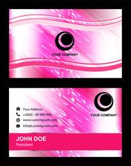 Beauty Business card design