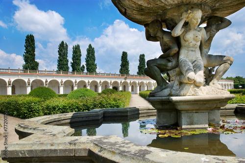 Flower gardens (UNESCO), Kromeriz, Czech republic - 77200122