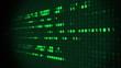 Binary Matrix Scrolling Prespective