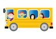 autobus z dziecmi