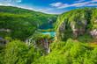 Leinwanddruck Bild - Plitvice Lakes NP from Vidikovac point #2,  Croatia