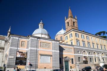 Church of Santa Maria del Popolo in Rome
