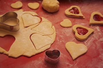 biscotti a forma di cuore_ San Valentino
